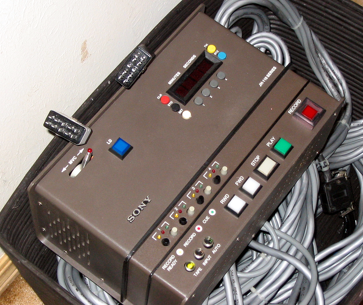 Warning Mci Jh 110c Remote Wiring 10 Pin Harness One Beau Connector Controls Ready Safe Input Repro Etc For Tracks 1 2 While The Second Is 3 4 If Those Audio Channels Are Present